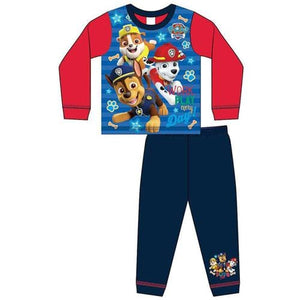 Boys Toddler Official Paw Patrol Work Pyjamas - Lulu Bella Boutique
