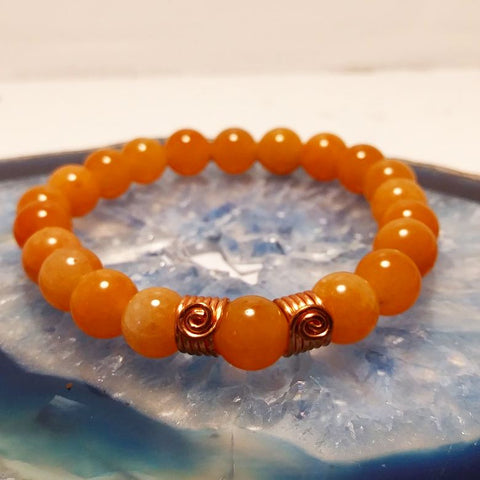Orange Adventurine Bracelet