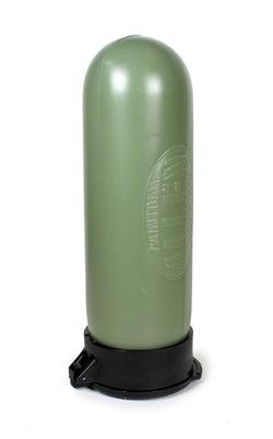 100 Round Olive Paintball Pod Pot