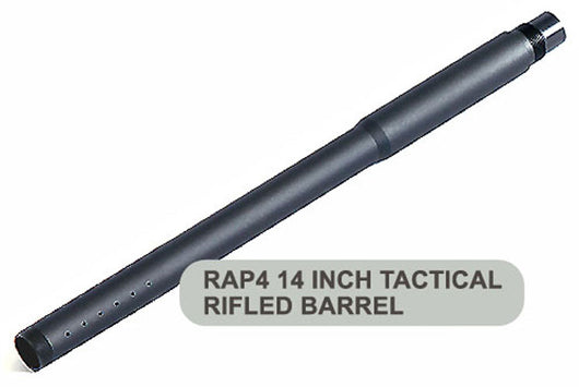 14 Inch Tactical Paintball Barrel - 98 Threaded