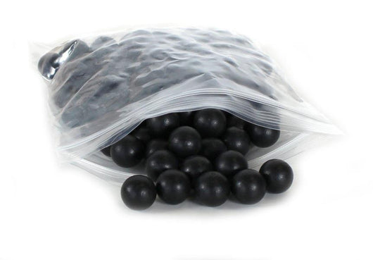.68 Black Rubber Training Ball Paintballs x100-Modern Combat Sports