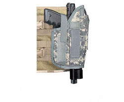 Molle Tactical Right Hand Draw Large Pistol Holster - Fits Tippmann TiPX