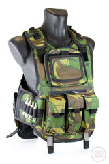 Counterstrike Padded Camo Paintball Vest - Chest Protector-Modern Combat Sports