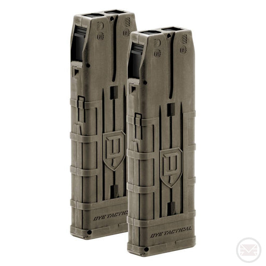 Dark Earth 20 Round Dye Dam Magazines (2 Pack)