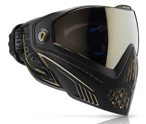 DYE i5 Paintball Goggles - Onyx Gold