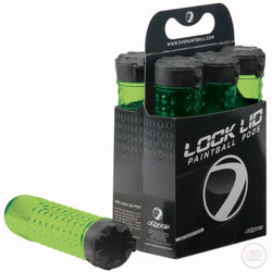 Lime Lock Lids Paintball Pod