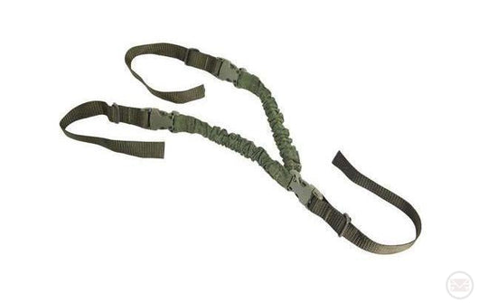 Hand Free V-Sling (Green)-Modern Combat Sports