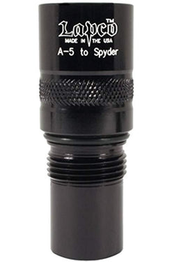 Lapco A5 to Spyder Paintball Barrel Adapter