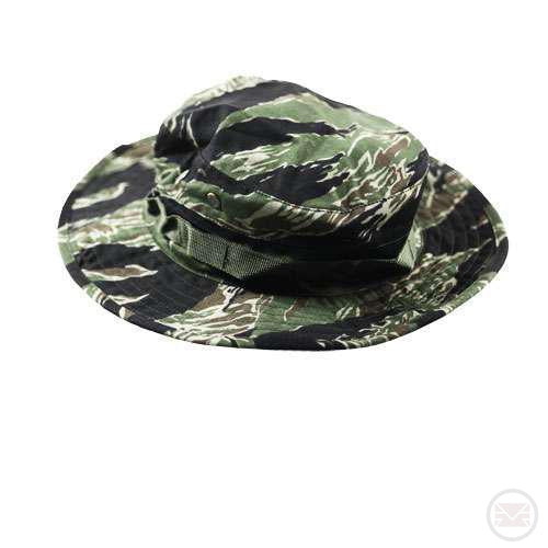 Military Boonie Hat (Tiger Stripe) (Large size)