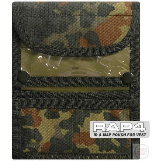 MOLLE MAP/ID Pouch (German Flecktarn)