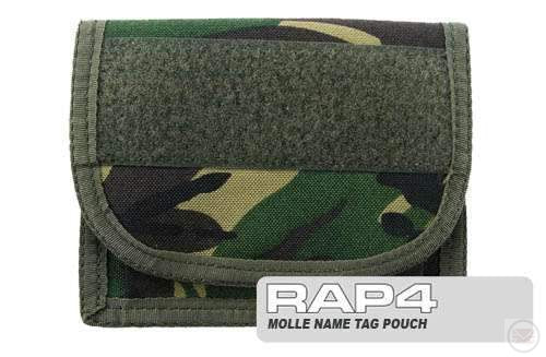 British DPM Camo Molle Name Tag Pouch