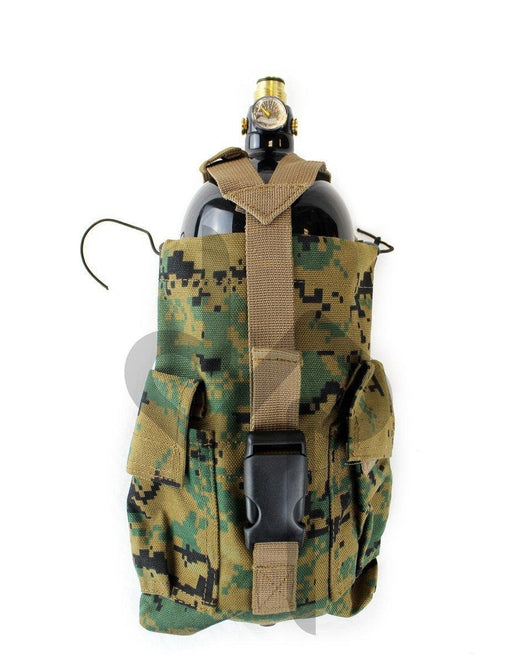 MOLLE Vertical CO2 Air Tank Pouch (Large) (Digital Camo)-Modern Combat Sports