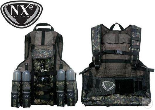 Nxe Light Infantry Tactical Paintball Vest-Modern Combat Sports