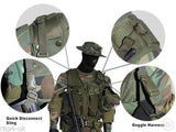 Paintball Goggles Harness Sling for Tactical Vest-Modern Combat Sports