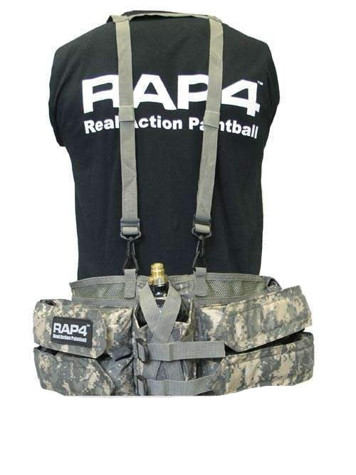 Paintball Harness (ACU)-Modern Combat Sports