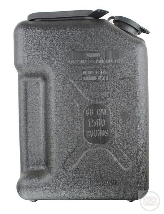 Paintball Jerry Can + x5 Pods and Pod Pal - BLACK