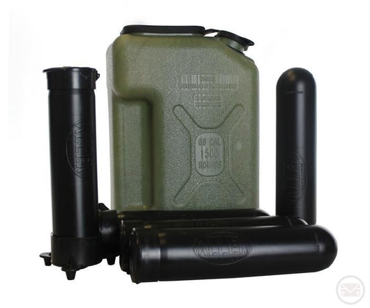 Paintball Jerry Can + x5 Pods and Pod Pal