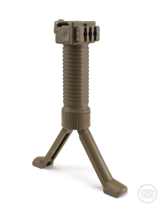 Tactical Foregrip Bipod - 20mm-Modern Combat Sports