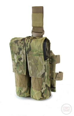 Leg and Belt Paintball Pod Pouch Multicam