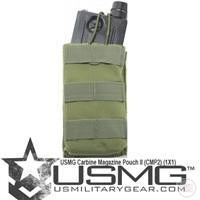 USMG Carbine Magazine Pouch II (CMP2) (1X1) (Olive Drab)-Modern Combat Sports