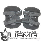 Paintball Airsoft Knee pads rear view