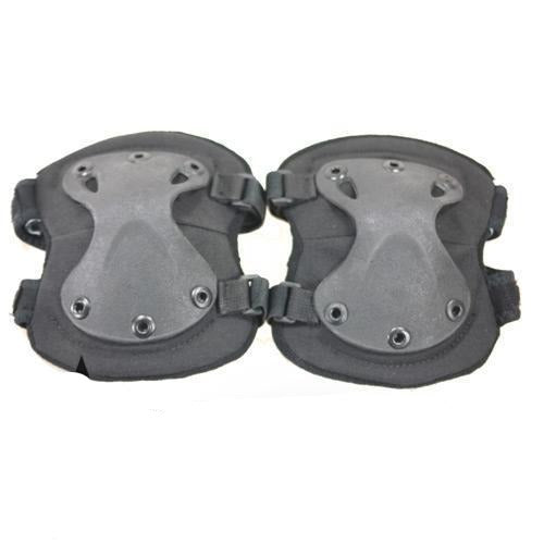 Front view of Paintball Airsoft Knee Pads