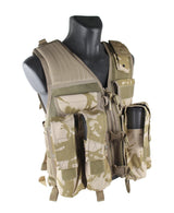 USMG Strikeforce Camo Tactical Vest Designed for Paintball and Airsoft-Modern Combat Sports