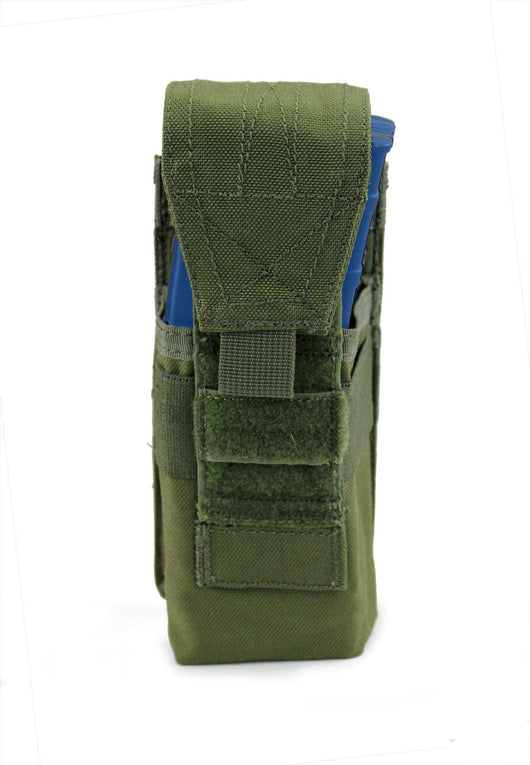 USMG Universal Single Magazine Pouch MOLLE - Olive Drab