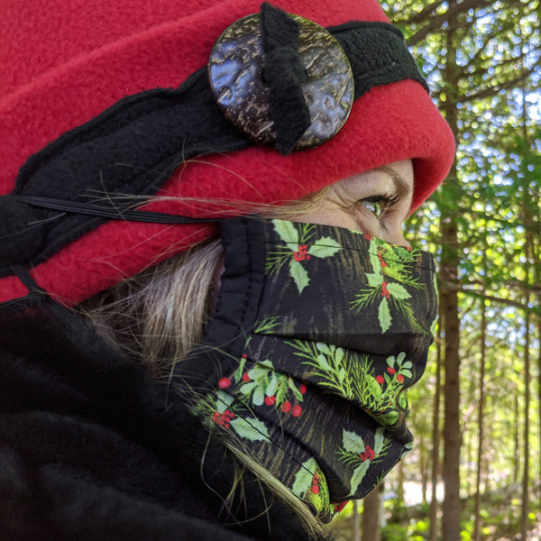Adapting to make our new fall and winter hats mask friendly