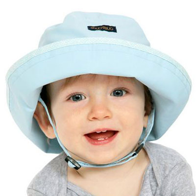 Baby Sun Hat, in 2 sizes, wonder and dream design