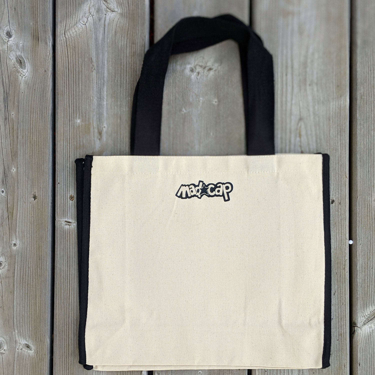 605 Born to be Wild Cotton Canvas Tote Bag