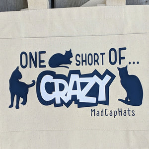 Cat Lady Cotton Canvas Tote Bag