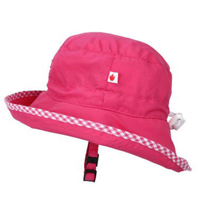 Adjustable Sun Hat, in sizes infant to 8 years, pink UPF50+