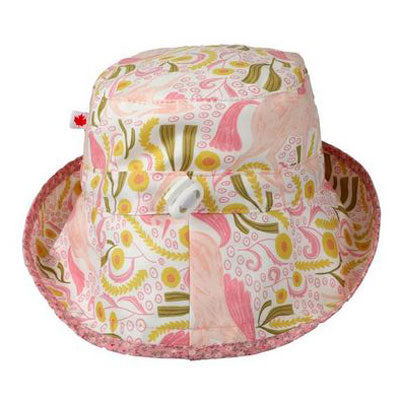 Kids Adjustable Sun Hat, in sizes infant to 8 years, unicorn dreams print