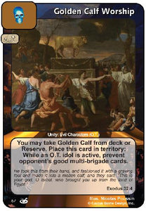 Golden Calf Worship (FoM)