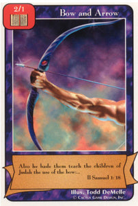 Bow and Arrow (Red) (A Deck)