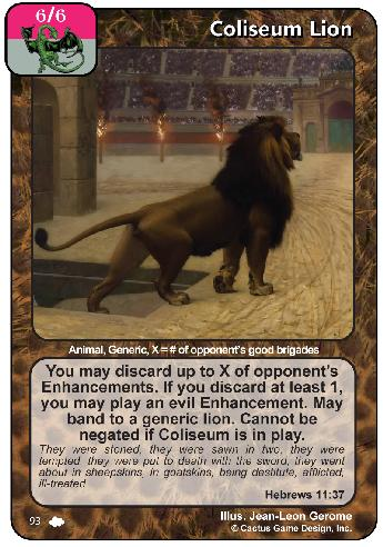Coliseum Lion (CoW)