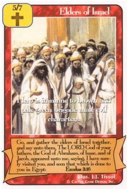 Elders of Israel (G Deck)