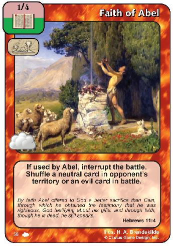 Faith of Abel (CoW)