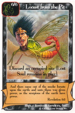 Locust from the Pit (G Deck)