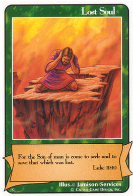 Lost Soul (Luke 19:10) (G Deck)