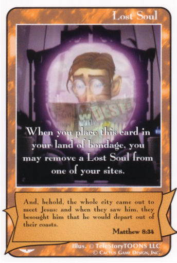 "Lost Soul (Matthew 8:34) ""Site Remover"" (AW)"