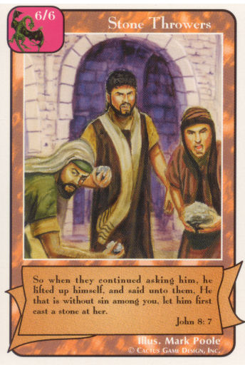 Stone Throwers (B Deck)