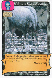 Wolves in Sheep's Clothing (Di)