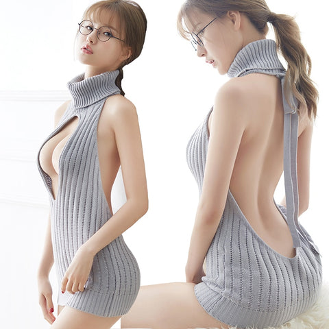 Keyhole Virgin Killer Sweater