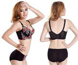 Hot Fashion Lace Push Up Deep V Bra Sizes 32-38 A-D