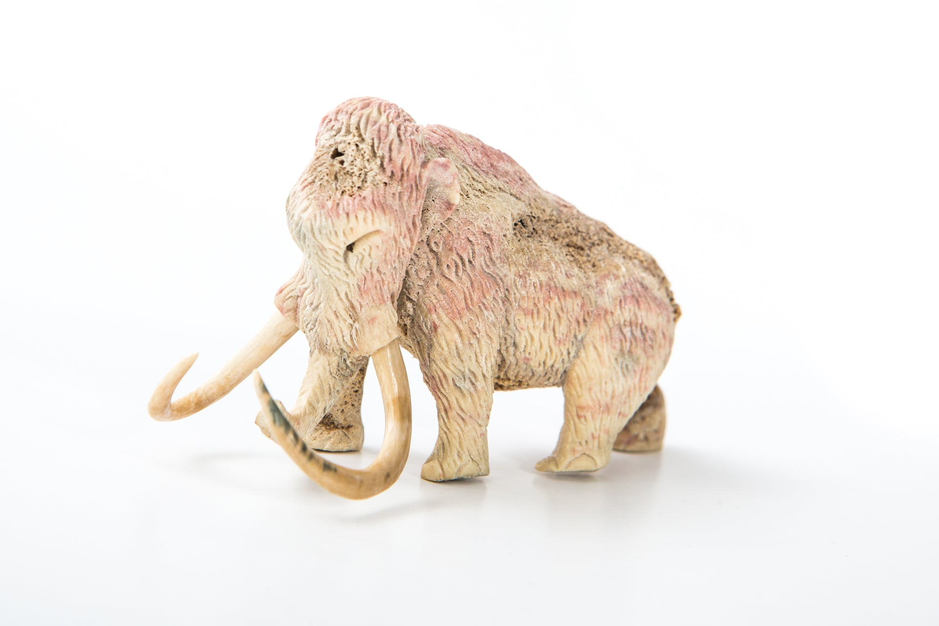 Carved mammoth
