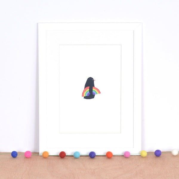 Rainbow Catcher print