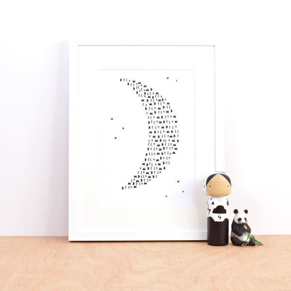Dream Moon print