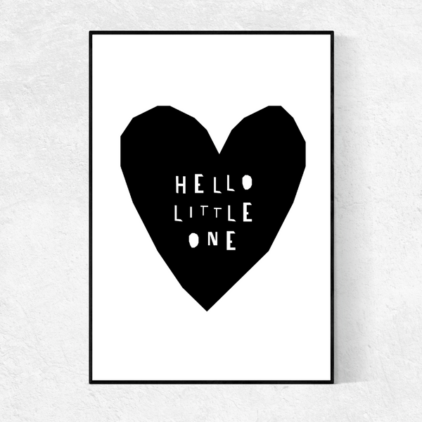 Hello Little One print